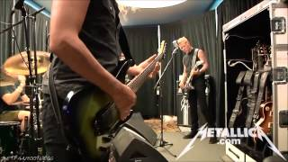 Metallica - Blitzkrieg in Tuning Room [Mexico City August 6, 2012] HD