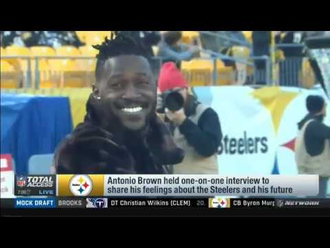 "Larry Fitzgerald on Antonio Brown : ""I dont't think he understands how good he has it"""