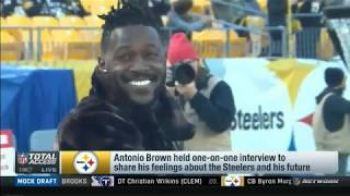 Larry Fitzgerald on Antonio Brown :