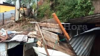 Conred: 32 mil afectados por  lluvias; persistirán los riesgos