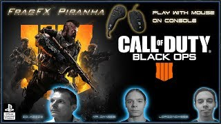 CALL OF DUTY BLACK OPS 4 - FRAGFX PIRANHA PS4 PRO GAMING MOUSE 🖱️ - Sony officially licensed