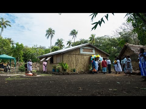 First Adventist Church on Futuna Island