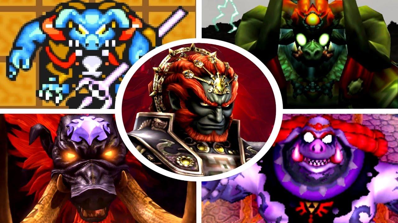 Evolution Of Ganon Battles In Zelda Games 1986 2017