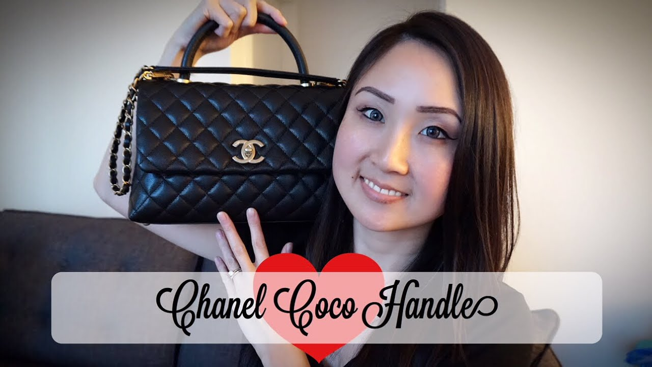 6d13691691f1 Chanel Coco Handle Reveal | Aimee Jo - YouTube