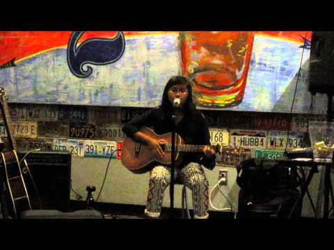 Annika performs acoustic guitar cover