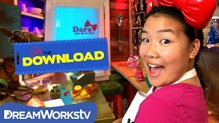 EXCLUSIVE Look at Dara The Bow Girl's New Show | THE DREAMWORKS DOWNLOAD