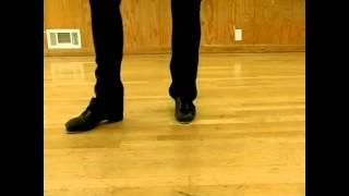 Уроки степа / чечетки. 6-кратный медленный повтор Scissor Steps & Moves