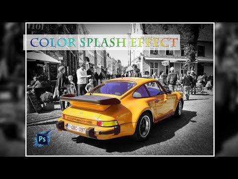 Color Splash Effect : Photoshop Tutorial