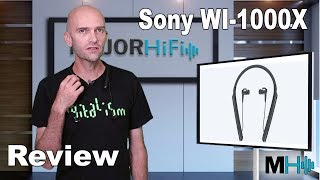 Sony WI-1000X Wireless Neckband with Active Noise Canceling