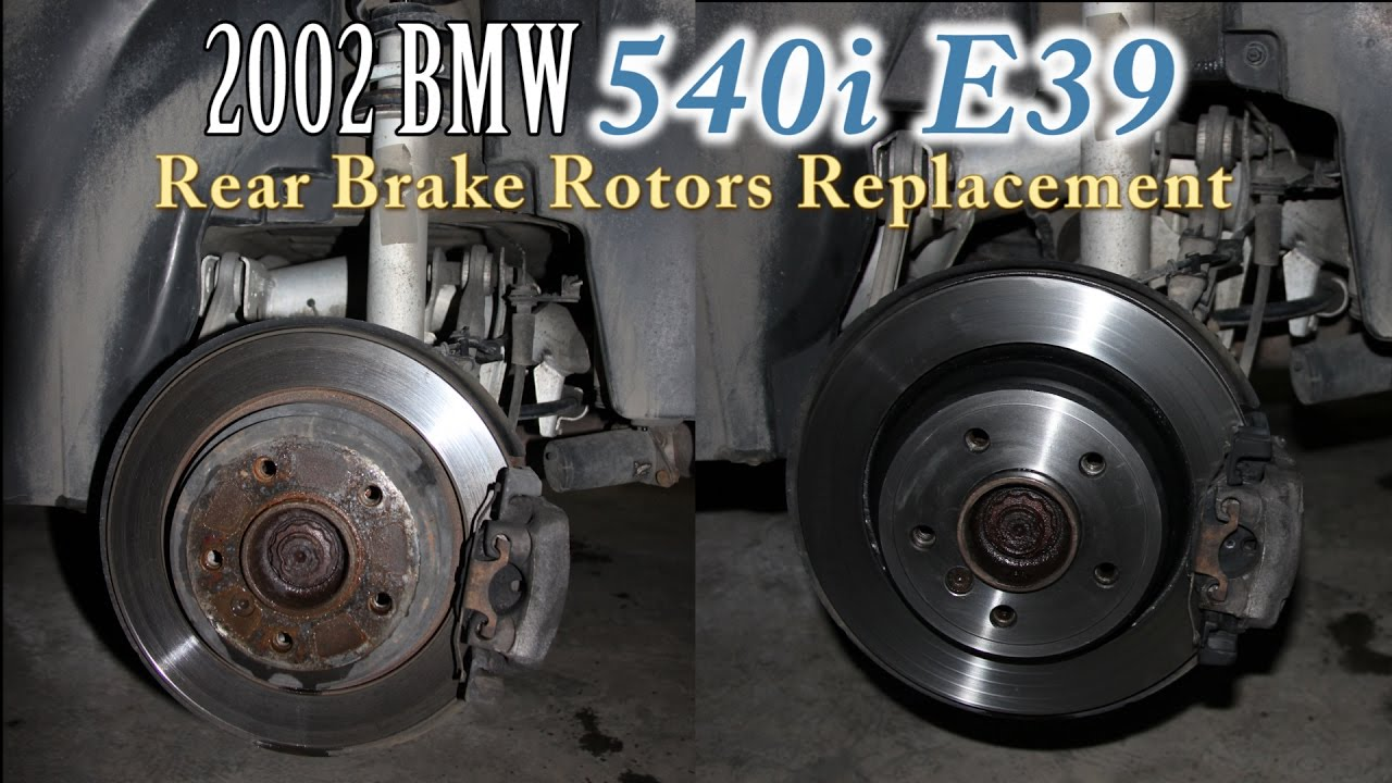 brembo Rear Pads Back Disc Brakes Brake Pad Set for e39 BMW 525i 528i 530i 540i