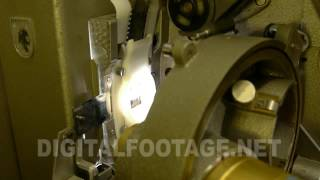 CLIP #613 / Switching On And Off Of The Cinema Old Projector Mp3