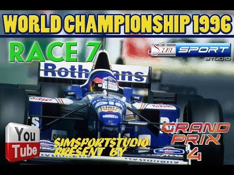 Grand Prix 4. Mod 1996. Race 7. Barcelona. Qualify and Race. Comments.