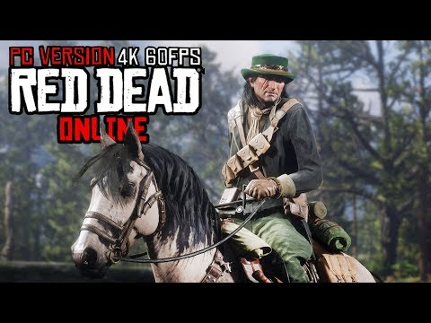 Red Dead Online PC 4k Ultra Gameplay - Making Money & Legendary Bounty Hunts!