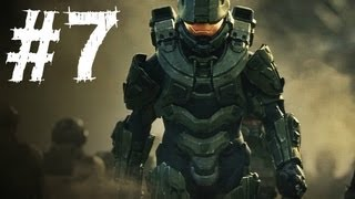 Halo 4 Gameplay Walkthrough Part 7 - Campaign Mission 4 - Infinity (H4)