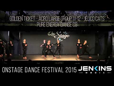 GOLDEN TICKET   Acro Large Group 11 12   Jelico Cats   Pure Energy Dance Co