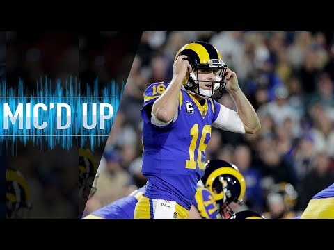 "Jared Goff Mic'd Up vs. Eagles ""What a battle, man"" | NFL Films"