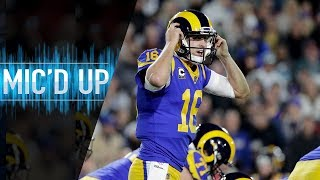 "Jared Goff Mic'd Up vs. Eagles ""What a battle, man"" 