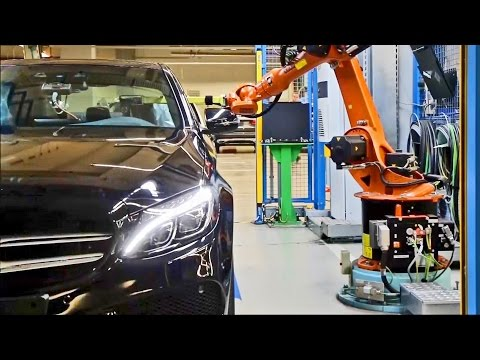 CAR FACTORY: Mercedes-Benz Industrie 4.0