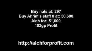 Runescape High Alch For Profit - Ahrim