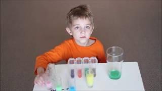 Смешиваем и учим цвета на английском