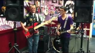 "The Busters perform ""The Archie's Ice Cream Song"" at Archie's in Tustin,Ca - 8/1/13 Thumbnail"