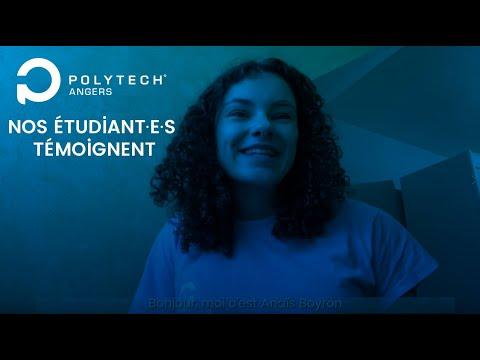 Nos étudiant·es témoignent : Anaïs, PeiP B - Polytech Angers