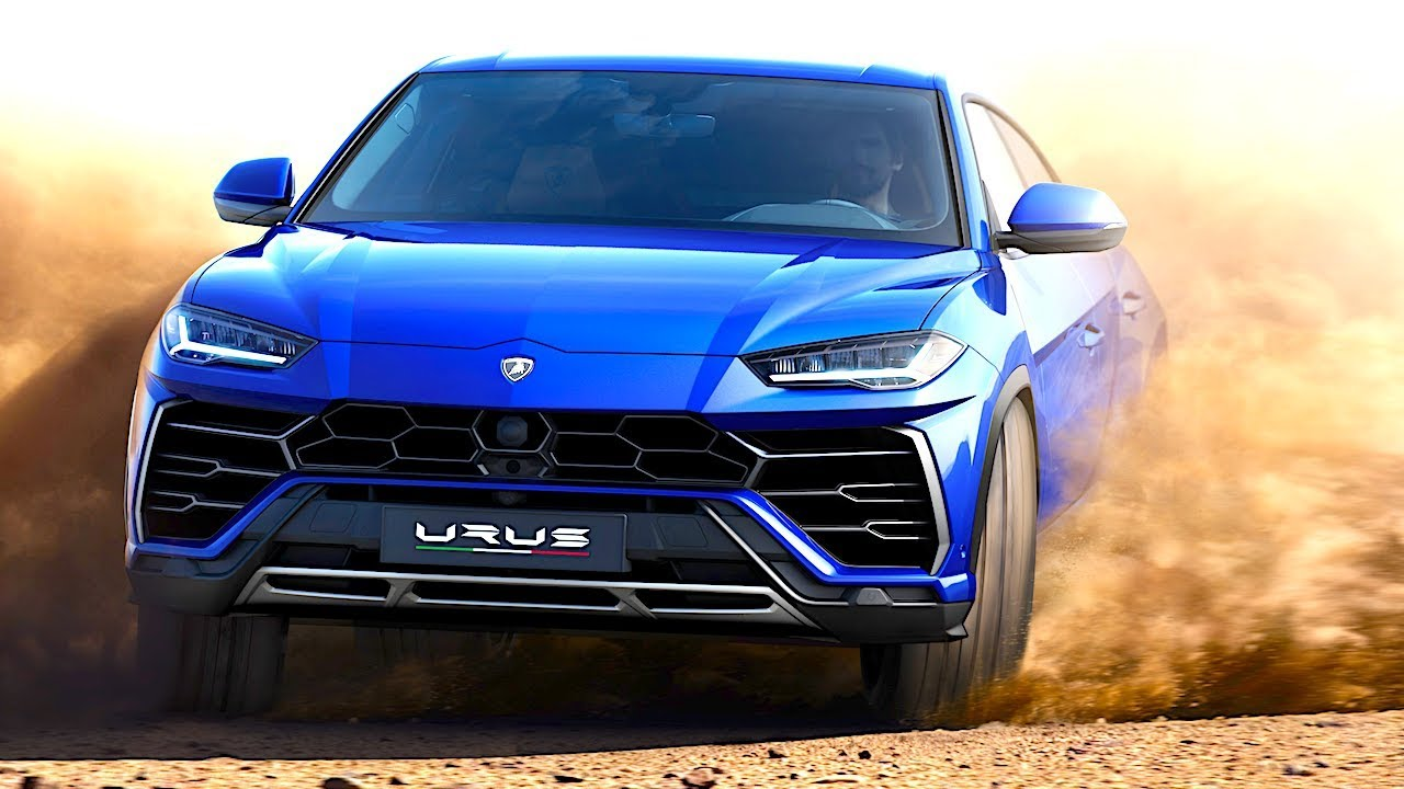 Lamborghini Urus Driving Engine Sound Commercial 2018 World Premiere
