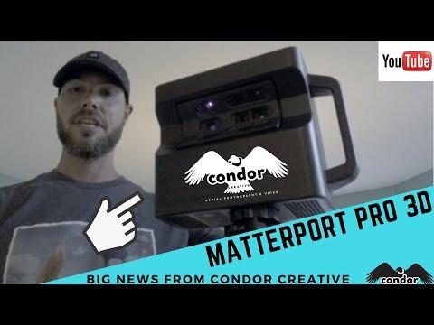 BRAND NEW Matterport 3D & VR Walkthroughs now available!! -Big News from Condor Creative