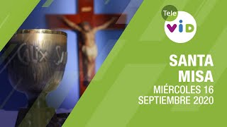 Misa de hoy ⛪ Miércoles 16 de Septiembre de 2020, Padre Esteban Cañola – Tele VID