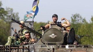 Украина.Благодаря действиям 26-летнего десантника уничтожено около 70 боевиков.Видео |Донецк,Луганск(Благодаря действиям 26-летнего десантника 79-й бригады уничтожена группа из 75 боевиков. Более 40 убитых, остал..., 2014-08-10T23:43:09.000Z)