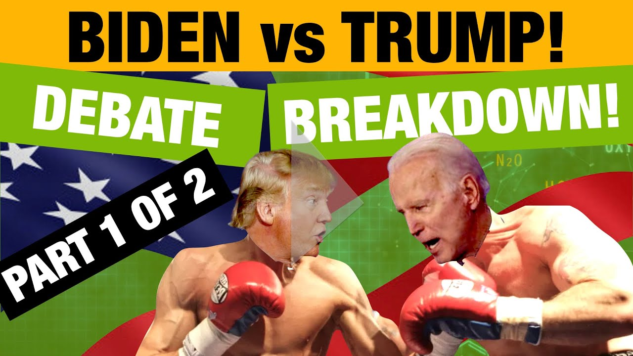 Part 1 Biden Trump Presidential Debate Body Language Breakdown Youtube
