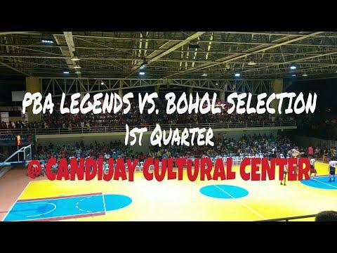 PBA LEGENDS VS. BOHOL SELECTION @ THE NEW CANDIJAY CULTURAL CENTER (1st Quarter)