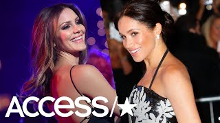 Katharine McPhee Shares An Epic Childhood Throwback Pic With Meghan Markle | Access