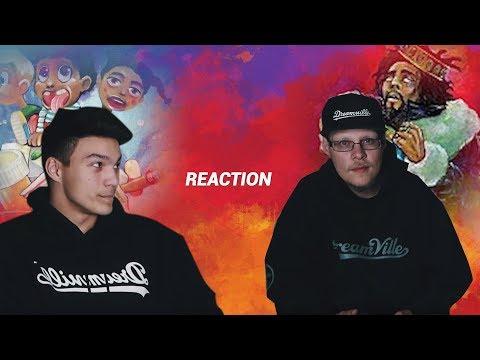 J Cole - KOD Reaction Ft. J Cole's Brother (Zach Cole)