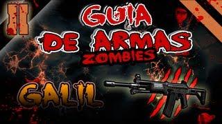 Guia de Armas Zombies BO2: Galil/Lamento