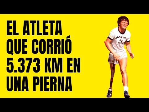 El Atleta que Corrió 5.373 Kilómetros en Una Sola Pierna | La Historia Terry Fox 💪