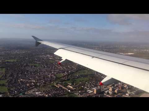 Full flight from Helsinki to London! Amazing cut in 1080p