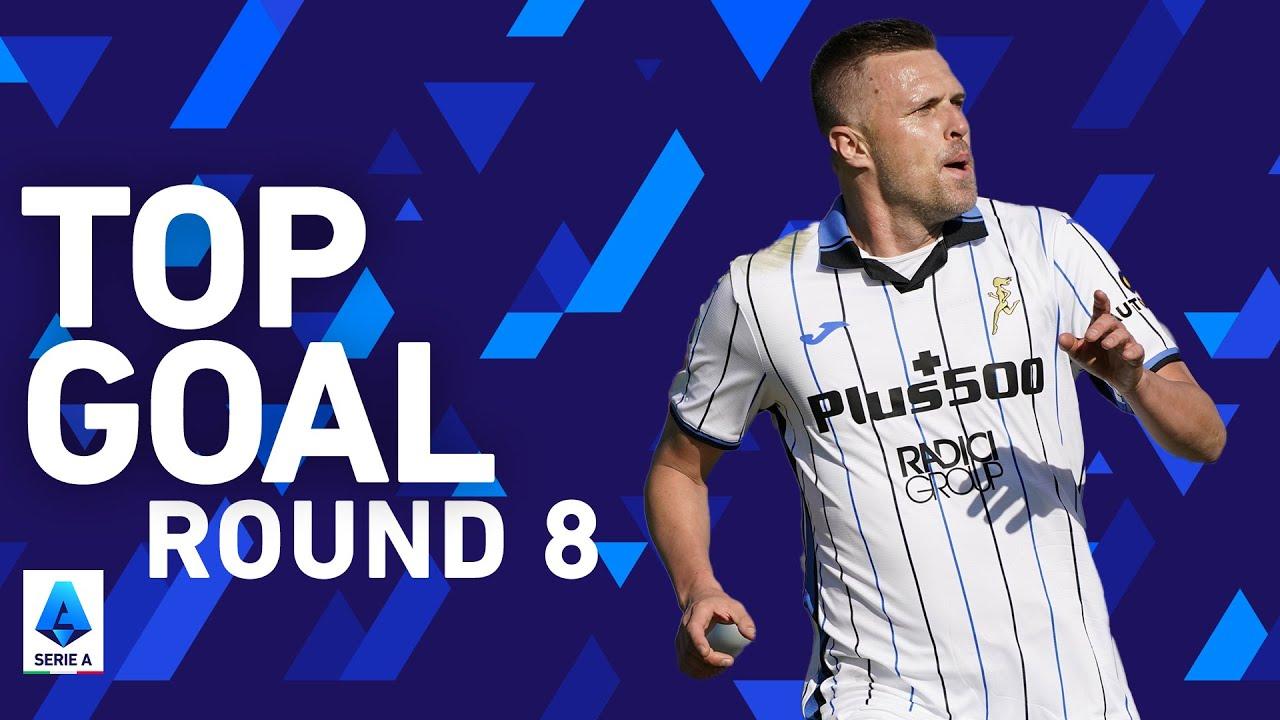 Josip Ilicic scores fantastic curler into the top corner!   Top Goals   Round 8   Serie A 2021/22