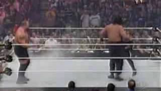 Undertaker vs Great Khali and the Big Show