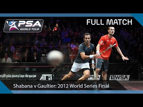 Squash: Full Match - 2011 World Series Finals, Final - Shabana v Gaultier
