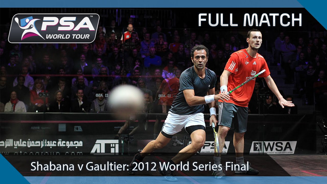 Download Squash: Full Match - 2011 World Series Finals, Final - Shabana v Gaultier