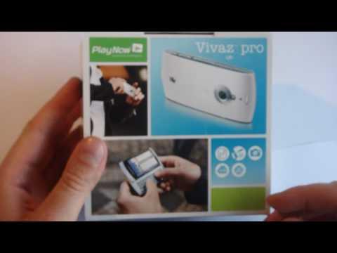 Sony Ericsson Vivaz pro unboxing (rus)