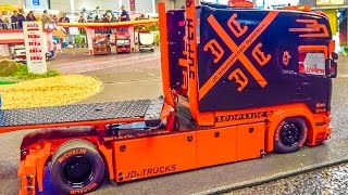 FANTASTIC RC trucks! SCANIA, Mercedes Actros and more in ACTION!