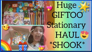 *Under Rs 500* HUGE *GIFTOO* STATIONARY HAUL  Most Fancy And Trendy Stationary For Any Girl  🌈