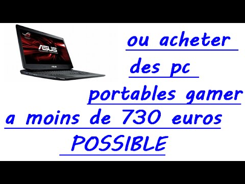 ou acheter un pc portable gamer a moins de 730 mois d 39 avril 2015 youtube. Black Bedroom Furniture Sets. Home Design Ideas