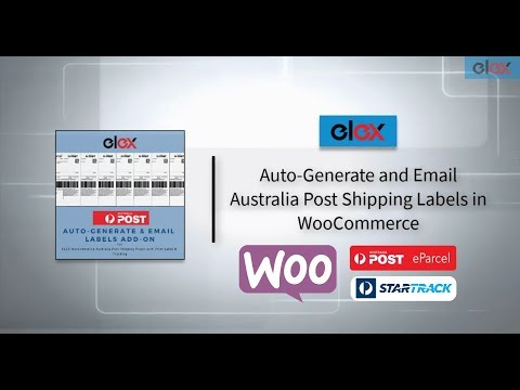 Auto-generate and Email Australia Post Shipping Labels in WooCommerce thumbnail