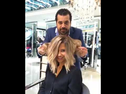 Amazing haircut color transformations by mounir salon for Mounir salon prix