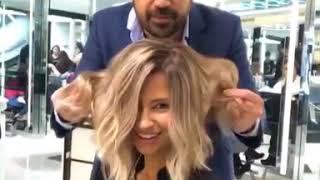 Amazing Haircut & color transformations    By  Mounir Salon
