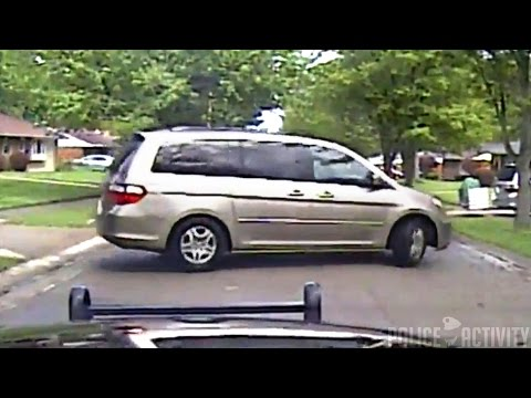Dashcam Shows Ohio Mom Leading Police On Wild Chase