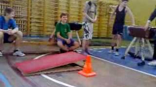 Урок физкультуры в школе №37